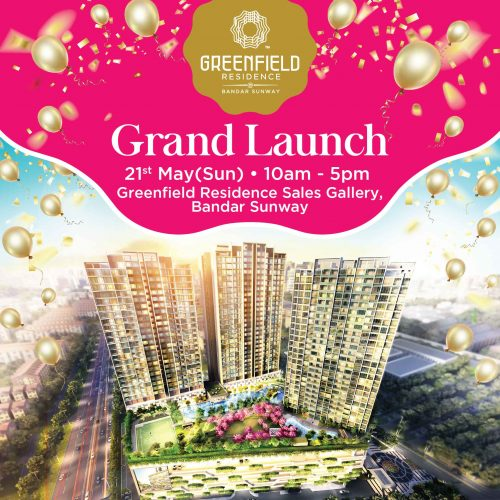Greenfield Residence,Grand Launch
